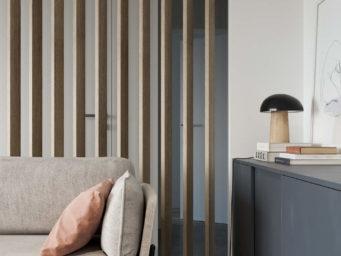Olga Dolen réinvente les codes d'un salon spacieux et chaleureux