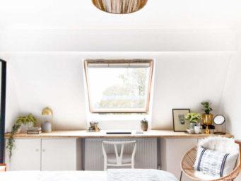Avant/Après : une chambre en mezzanine réagencée à la perfection