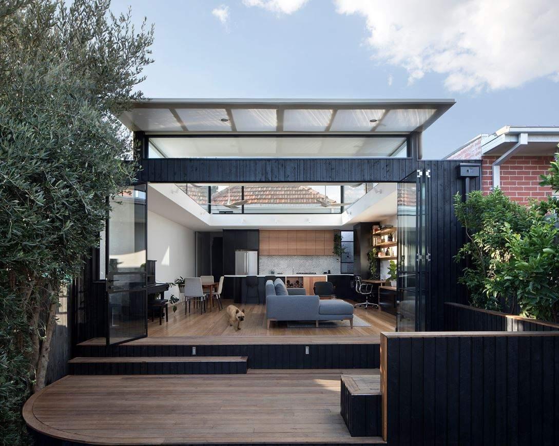 une maison design au style futuriste et cologique sign e ben gallery. Black Bedroom Furniture Sets. Home Design Ideas