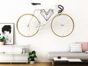 Hang Bike où l'art de suspendre son vélo avec classe