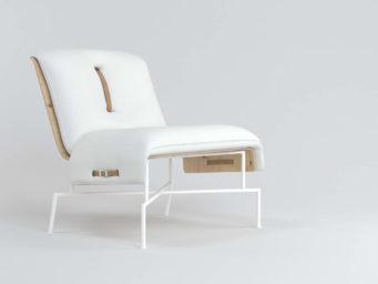 La collection fauteuils bas 'Demi' signée Julia Kononenko