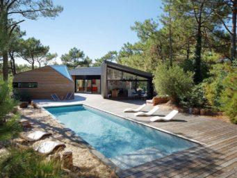 Une maison de vacances dans le sud de la France au Cap Ferret