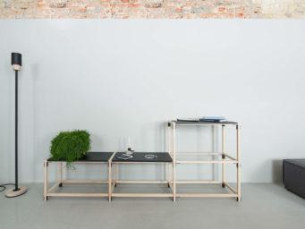 STICKS SHELVING : l'étagère bâton revisitée par le studio FILD