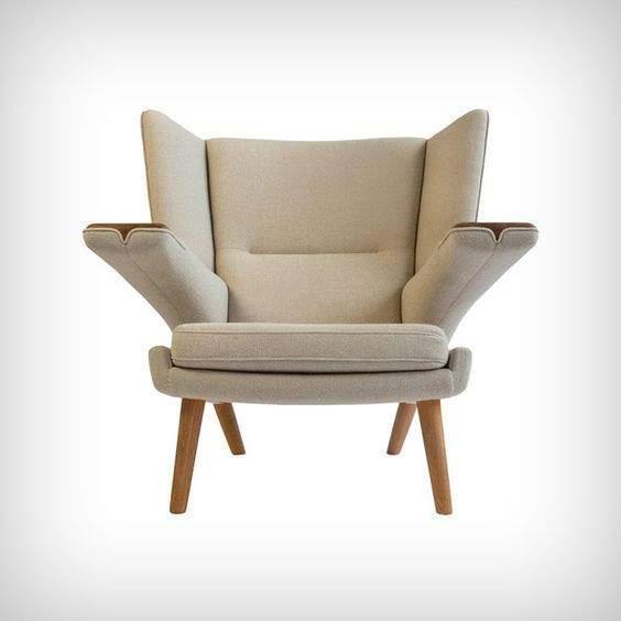 le fauteuil oreilles reste un intemporel dans la d coration int rieure. Black Bedroom Furniture Sets. Home Design Ideas