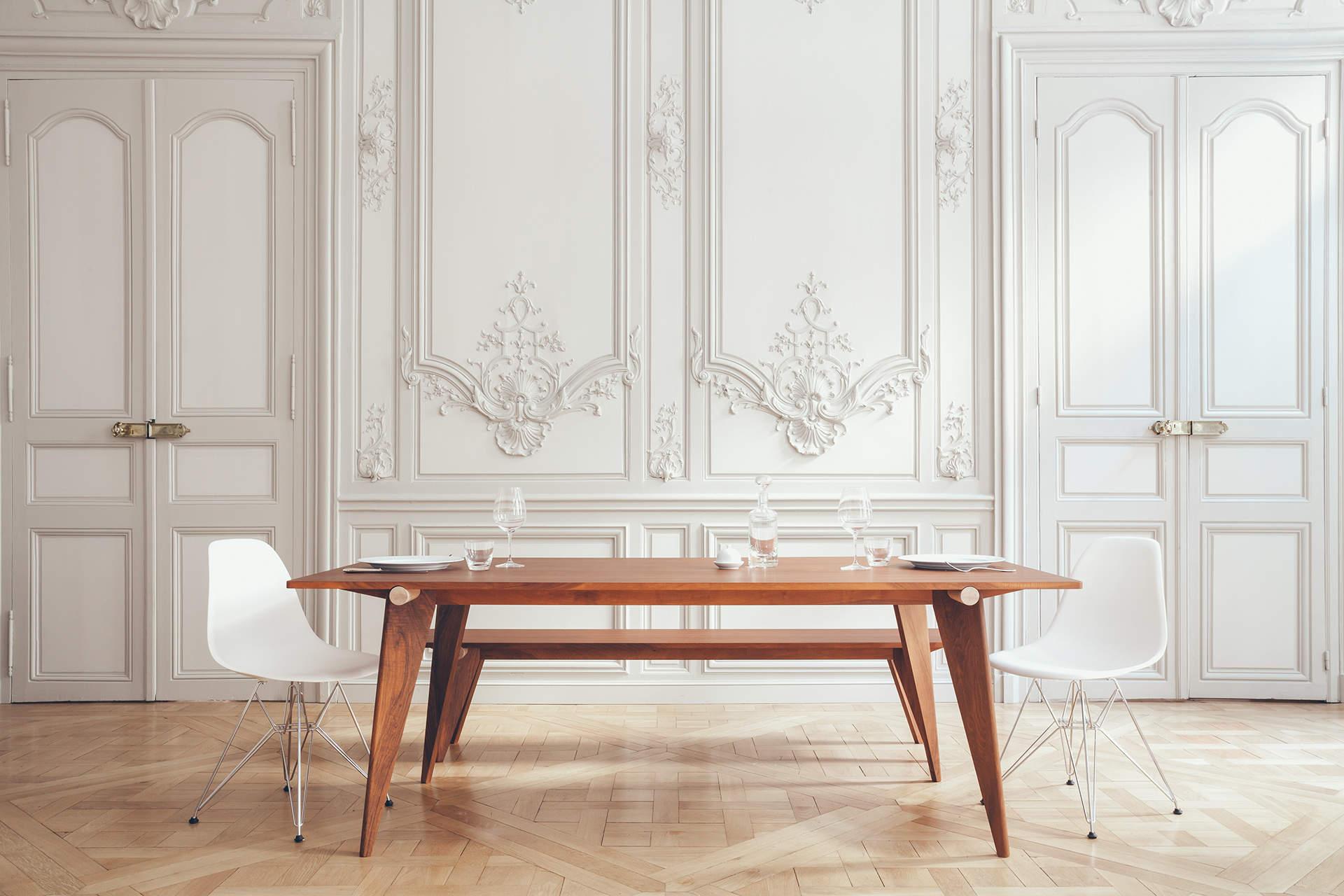 Versant edition et sa table au design minimaliste pur for Design minimaliste