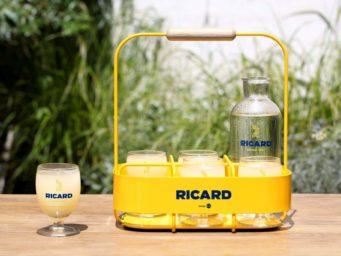 Coup de cœur de l'été : le panier Ricard dessiné par l'agence 5.5