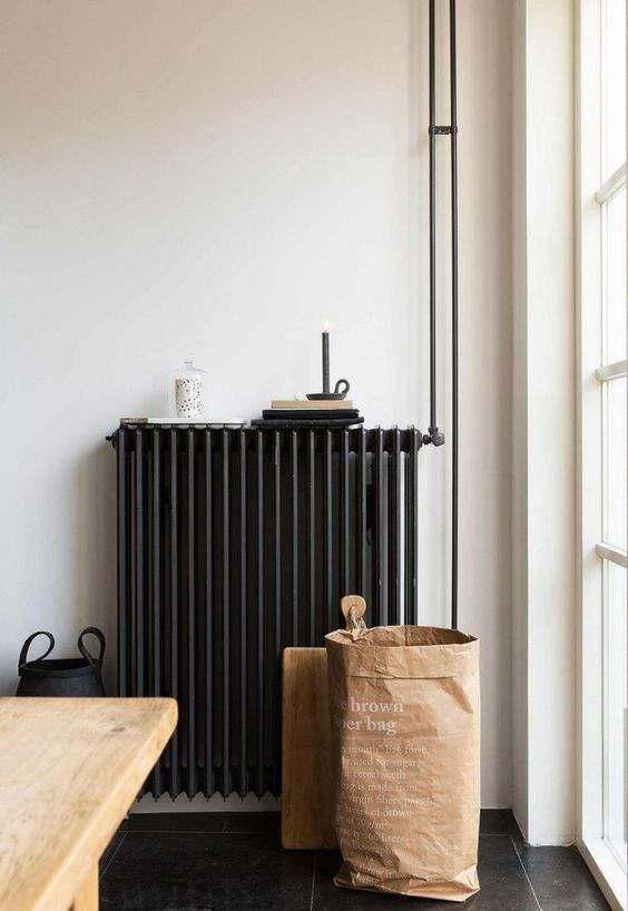 cacher radiateur