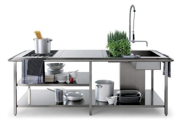 4 id es de mati res pour habiller son lot central dans sa cuisine. Black Bedroom Furniture Sets. Home Design Ideas