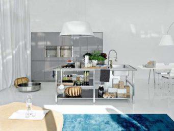 4 idées de matières pour habiller son îlot central dans sa cuisine