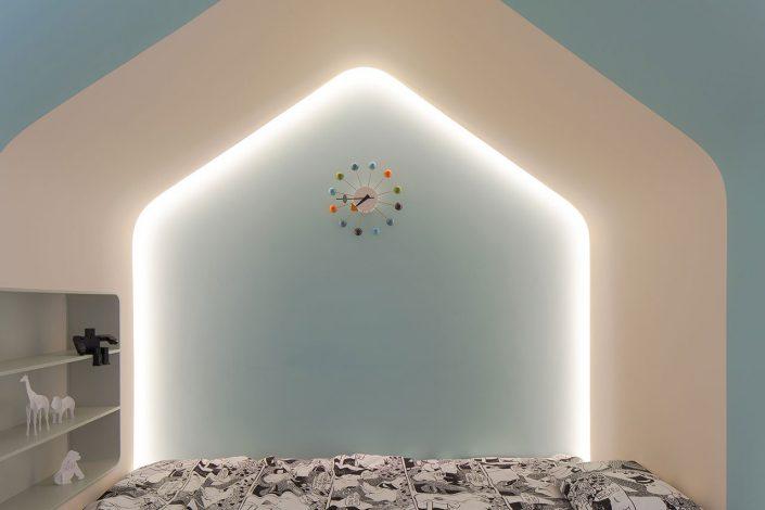 decoration epuree pour les chambres avec des couleurs tendances