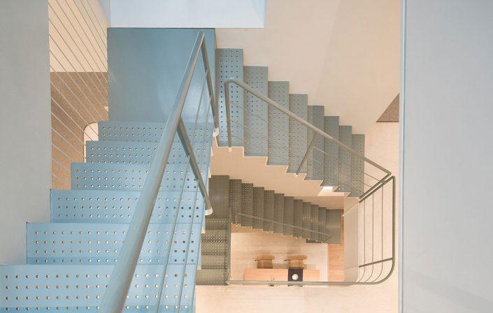 les escalies style industriel pour la maison modulable