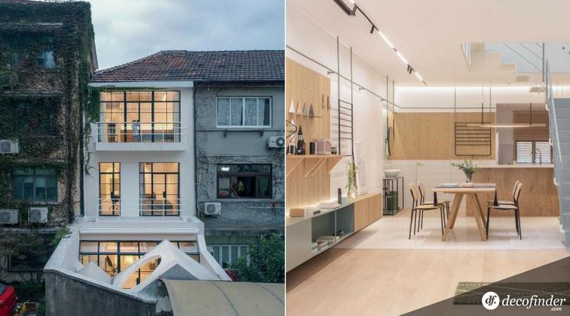 Visite une maison modulable et minimaliste en plein shanghai for Habitat minimaliste