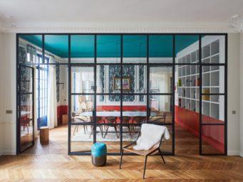 Un appartement parisien qui en fait voir de toutes les couleurs
