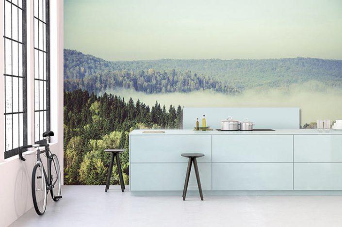 notre s lection de papiers peints panoramiques pour se sentir au plus proche de la nature. Black Bedroom Furniture Sets. Home Design Ideas