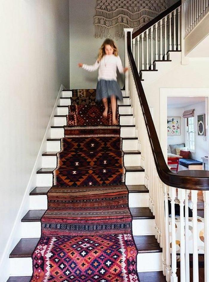 tapis d escalier, tapis pour escalier oriental archz