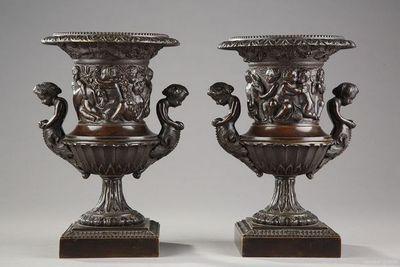 Galerie Athena vase medicis