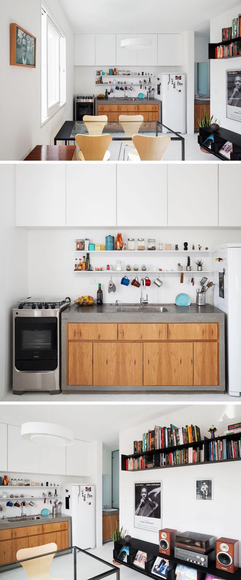 une cuisine fonctionnelle qui offre une multitude de rangements