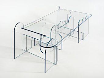 Lexan table, la table basse transparente et originale signée Phaedo Design