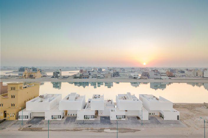 La serie de 5 residences au Koweit
