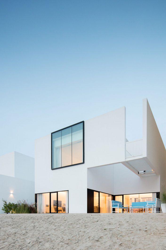 La villa contemporaine Areia au Koweit