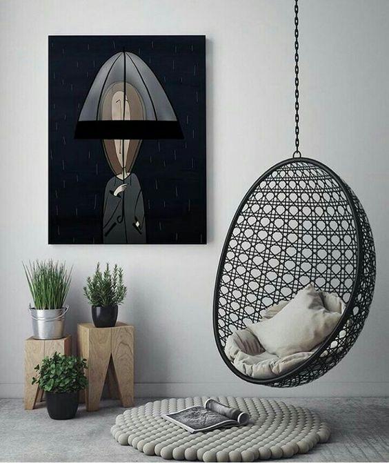 balancelle pour interieur contemporain