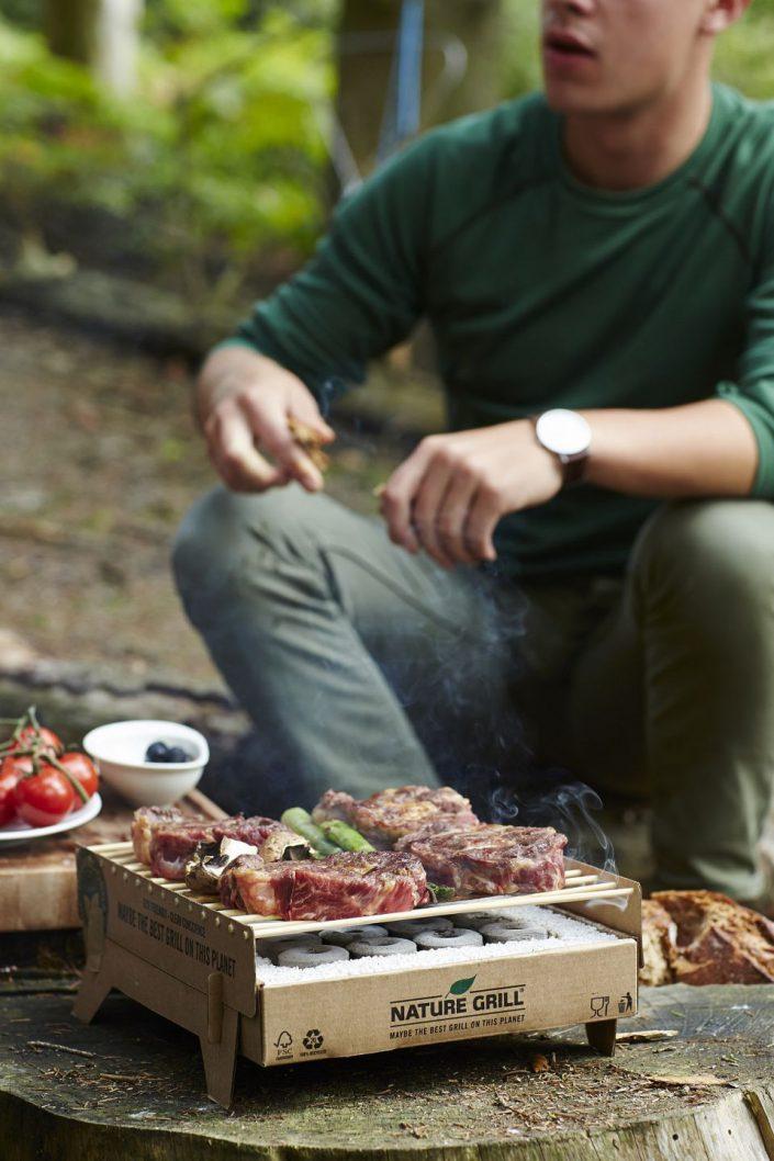 barbecue biodegradable