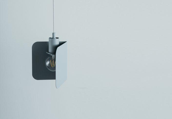 ce luminaire se fond dans une deco contemporaine