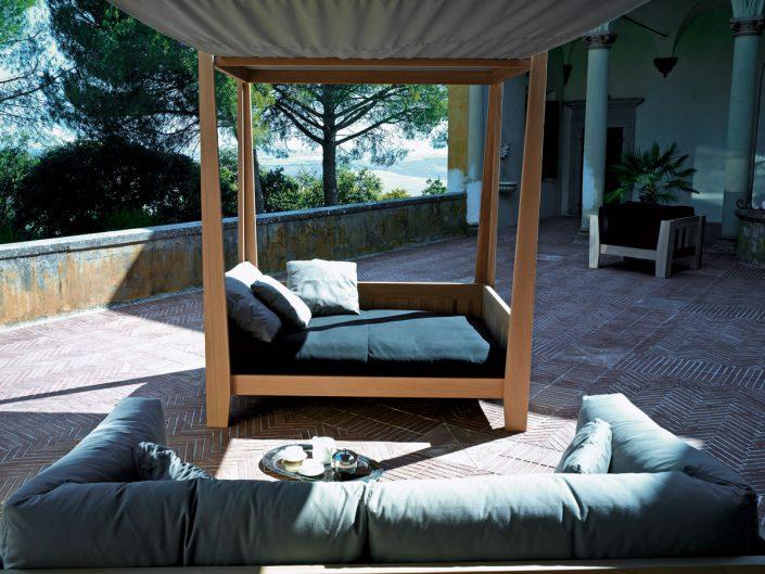 kitando divan couvert d'exterieur