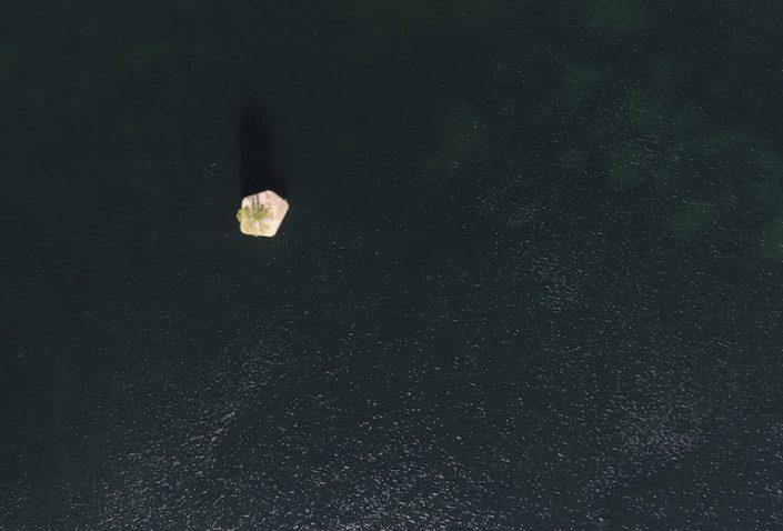 le protype d'ile flottante vue du ciel CPH-01
