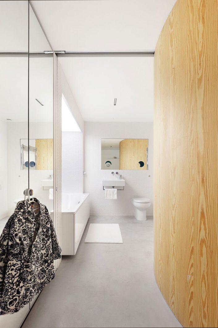 salle de bain de l'extension