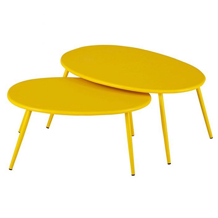 2 petites tables gigognes Lumpa