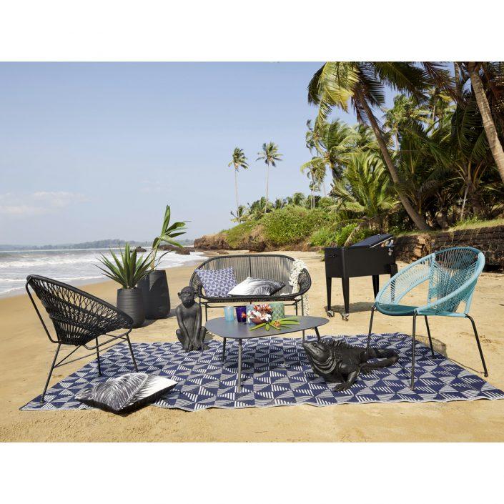 Fauteuil Ko Samui sur une plage collection été maisons du monde