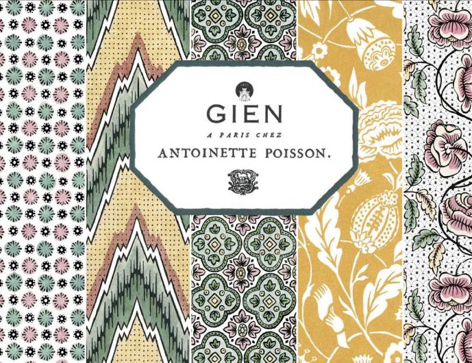 Nouvelle collection Gien et Antoinette Poisson
