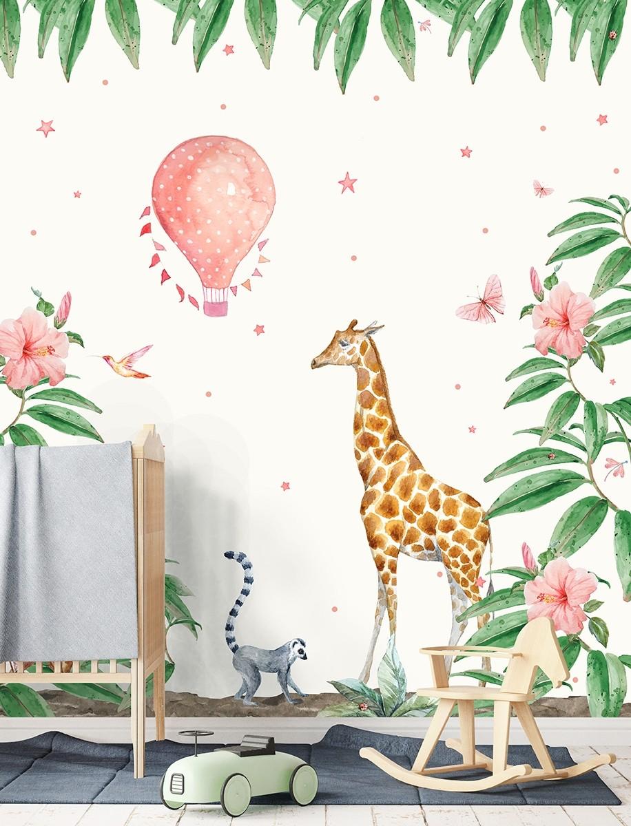 creative-lab-amsterdam-papier-peint-animaliers-enfants