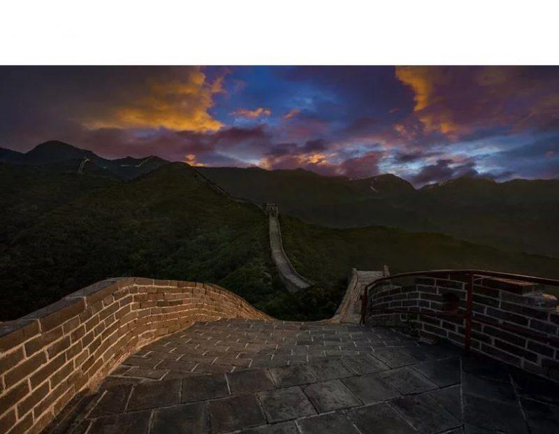 vue muraille de chine