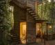 Une cabane dans les arbres au cœur de la forêt mexicaine