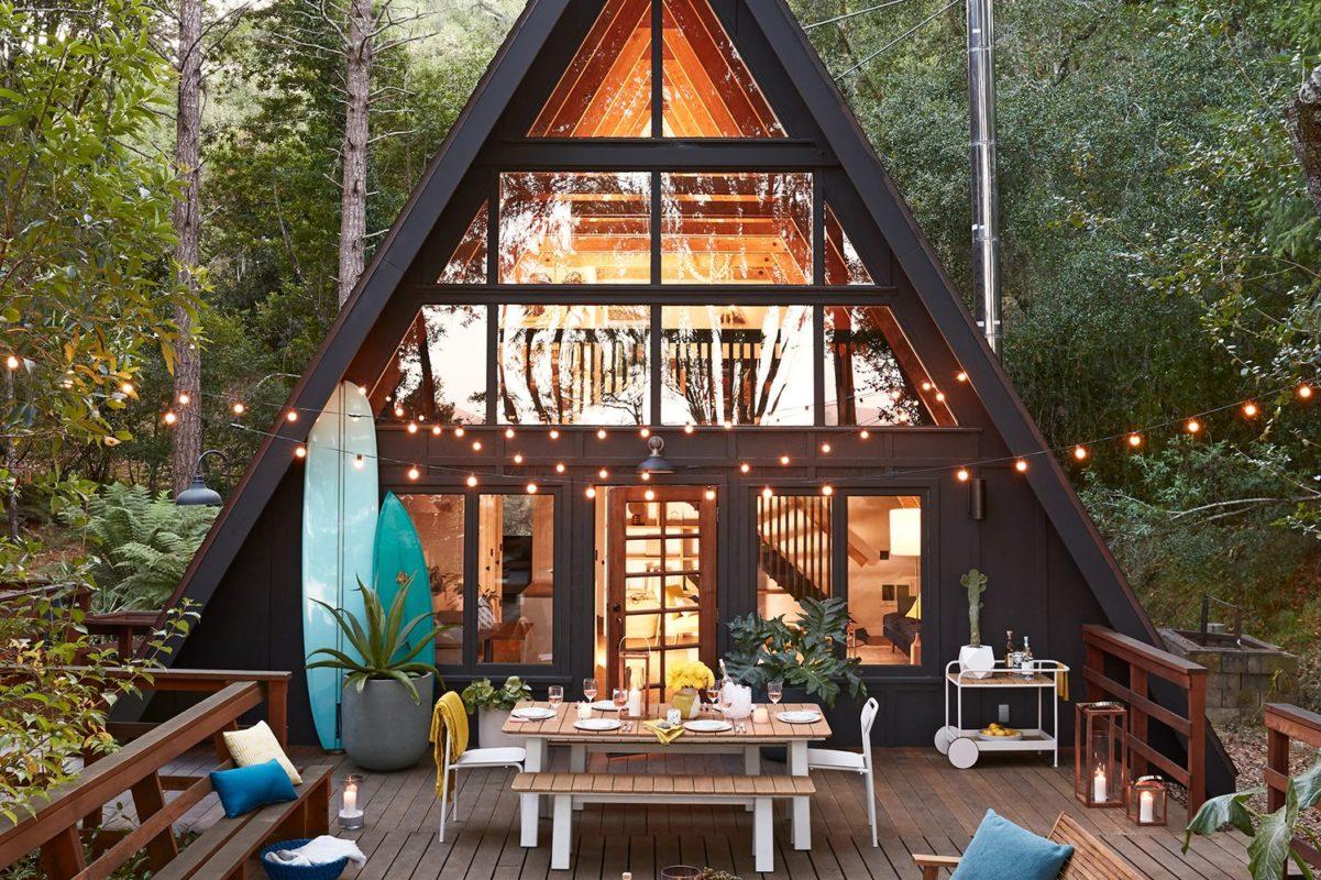 DEN, l'entreprise qui révolutionne la cabane et la maison « A-Frame »