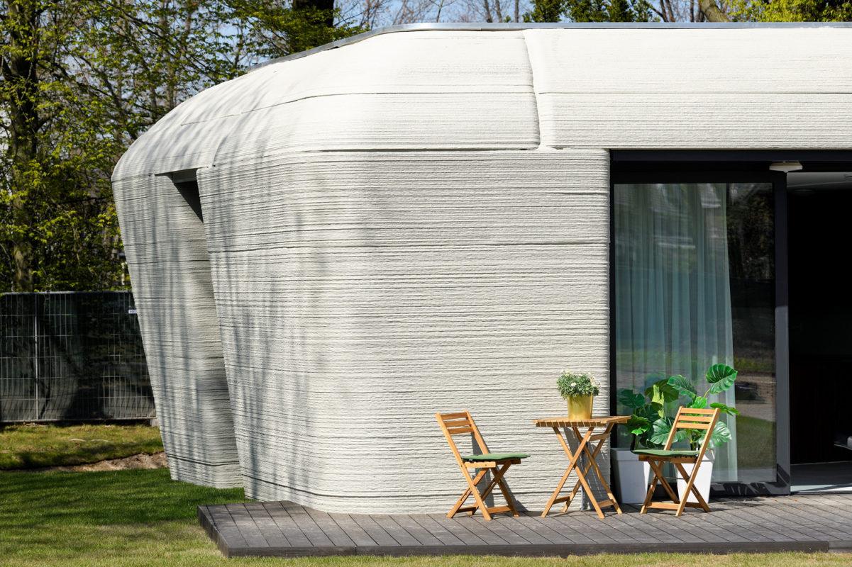 Projet Milestone : des maisons en béton imprimées en 3D au Pays-Bas